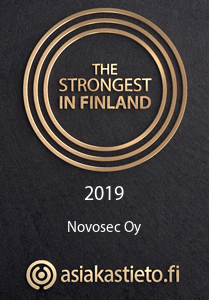 The strogest in Finland 2019 - Novosec Oy - Asiakastieto.fi